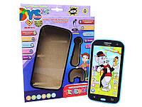 Детский интерактивный телефон Том и Джерри JD-203-A с наушниками