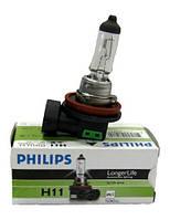 Автомобильная лампа Philips 12362 H11 12V 55W PGJ19-2 Long Life