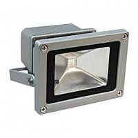 Прожектор светодиодный LL-181  1LED 20W RGB (+пульт) 230V (115*87*103мм) серебро ІР44   Feron