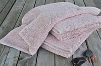 Хлопковый банный коврик Eke Нome Muson 70х140 ROSE розовый