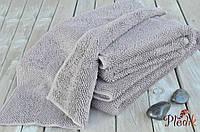 Хлопковый банный коврик Eke Нome Muson 70х140 DUNE серо-бежевый