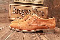 Замшивые туфли мужские   (новые)  40-45 размер
