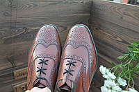 Мужские туфли Richleigh отличное качество и цена , 26,7 см, 41,5-42 размер.Код: 142.