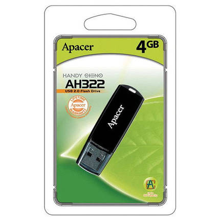 Apacer AH322 4GB Black, фото 2