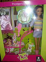 Набор с Куклой  Ася  + малышка и аксессуары