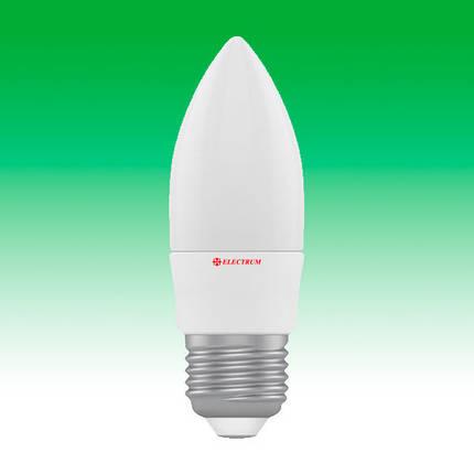 Светодиодная лампа LED 4W 4000K E27 ELECTRUM LC-4 (A-LC-0300), фото 2