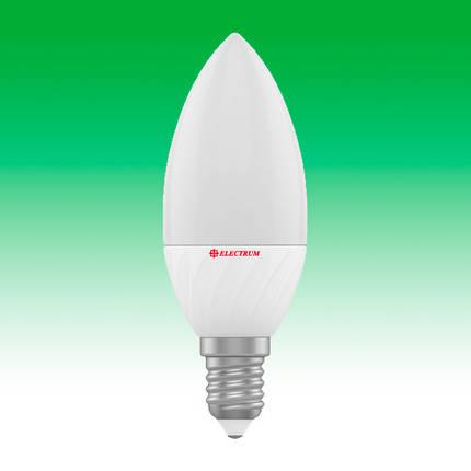 Светодиодная лампа LED 4W 4000K E14 ELECTRUM LC-10 (A-LC-0522), фото 2