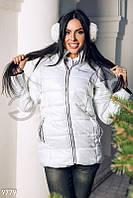 Куртка белая дутая