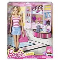 Кукла Барби с собачками Barbie Doll & Pets Gift Set