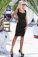 Прилегающее платье-бюстье