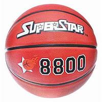 Баскетбольный мяч 7 размер: Superstar EV 8800, резина, 8 панелей, рисунок тиснение, диаметр 25 см