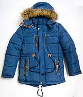 Стильная зимняя куртка  на мальчика до 14 лет. Сезон 2016