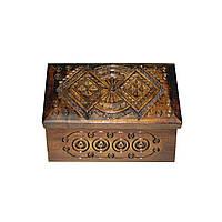 Шкатулки деревянные сувенирные