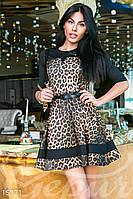 """Платье """"леопардовый принт"""""""