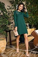 Асимметричное свободное платье