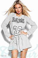 Спортивное платье-тенниска