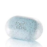 Мыло-скраб для ног с водорослями и пудрой косточек абрикоса