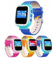 Детские GPS часы-телефон Q60 с GPS трекером Цветные