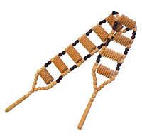 Деревянный массажер для спины