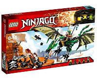 LEGO Ninjago (70593) Зелёный Дракон NRG