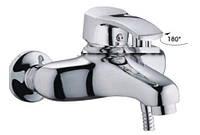 Смеситель Ванна короткая EURO (картриджный 40мм)   HAIBA FOCUS