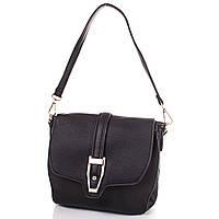 Черная женская сумка-клатч из качественного кожзаменителя ANNA&LI (АННА И ЛИ) TUP14256-2