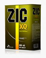 Моторное масло ZIC XQ 0W-40 4л