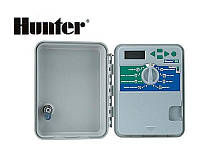 Контроллер  Hunter X-CORE 401-E (наружный). На 4 зоны полива.