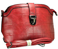 Арт 8133-2 Клатч-сумка бордовый 28х17,5х11см
