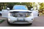 Дефлектор капота VIP TUNING Nissan Patrol (Y62) 2010-