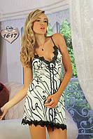 Женская ночная рубашка с кружевом Jasmin