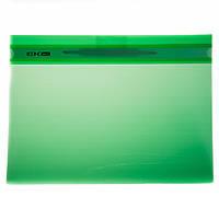 Папка сшиватель с зажимом Economix зеленый 31511-04