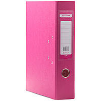 Папки регистраторы на кольцах  А4 Buromax 7см  розовый
