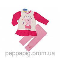 """Пижама / костюмчик детский для девочки Peppa Pig """"Свинка Пеппа""""/ рост 74см,80см,86см,92см /12-18-24мес;2.5года"""