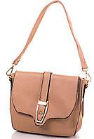 Оригинальная сумка-клатч из качественного кожзаменителя ANNA&LI (АННА И ЛИ) TUP14256-12  (бежевый)