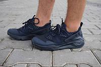 Кроссовки  Nike Huarache, мужские, темно-синие (р.41-46)