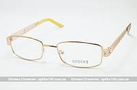 Оправа для очков женская Ledix 612 металлическая