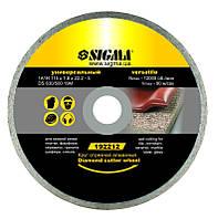 Круг отрезной по бетону абразивный 230*2.5мм Sigma 1921761