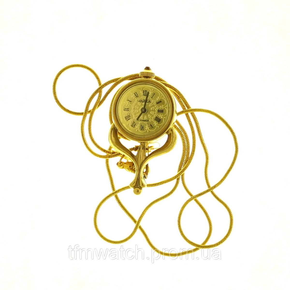 Чайка часы-кулон женские