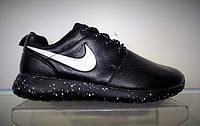 Мужские кроссовки Nike Roshe Run кожаные