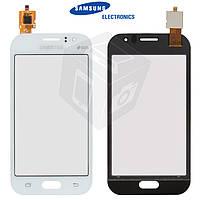 Сенсорный экран (Touchscreen) для Samsung Galaxy J1 Ace J110G/J110H/DS/J110L/J110M, оригинальный (белый)