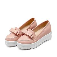 Туфли на белой подошве, 3 цвета, большие размеры