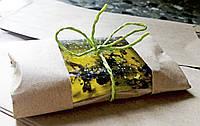 """Натуральное мыло """"Зеленый чай с бергамотом"""" для лица, рук, тела ручной работы"""