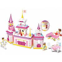Великолепная игрушка: Замок принцессы, конструктор Sluban M38-B0251, из 385 элементов