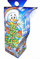 """Новогодняя упаковка 2017 НОВИНКА """"Фонарик снеговик 400г.""""скидка только для оптовиков"""