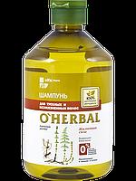 Шампунь O'Herbal для тусклых и безжизненных волос