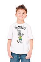 """Детская футболка """"Заяц из """"Ну Погоди"""""""""""