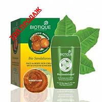 Био Сандал, Солнцезащитный, водоустойчивый, питательный крем с SPF 50 / Bio Sandalwood, Biotique / 55 gr
