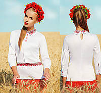 Блузка в украинском национальном стиле