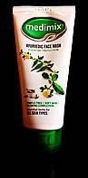 Medimix, Ayuvedic Face Wash, Aloe Vera, Neem, Turmeric, Гель для умывания лица, 50 ml.